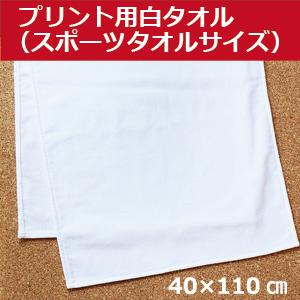 プリント用白タオル・スポーツタオルサイズ
