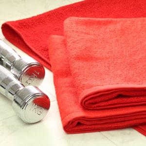 業務用赤タオル