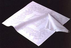 テーブルナプキン四角バラ
